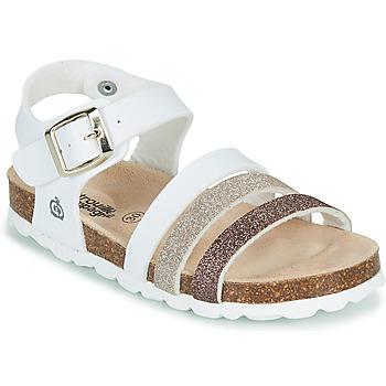 Sapatos Rapariga Sandálias Citrouille et Compagnie OMAYA Branco