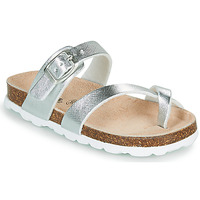 Sapatos Rapariga Chinelos Citrouille et Compagnie OMILA Prateado