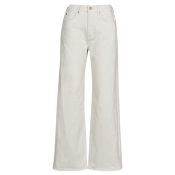 Textil Mulher Calças Jeans Pepe jeans LEXA SKY HIGH Branco