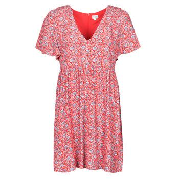 Textil Mulher Vestidos curtos Pepe jeans CAROLINA Vermelho / Azul