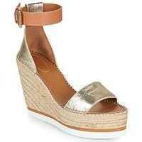 Sapatos Mulher Alpargatas See by Chloé GLYN Ouro