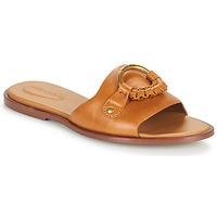 Sapatos Mulher Chinelos See by Chloé HANA SB3305 Conhaque