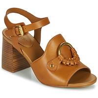 Sapatos Mulher Sandálias See by Chloé HANA SB3406 Conhaque