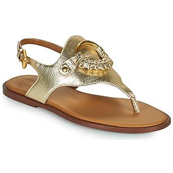 Sapatos Mulher Sandálias See by Chloé HANA SB36131 Ouro