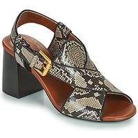 Sapatos Mulher Sandálias See by Chloé HELLA Bege / Cinza