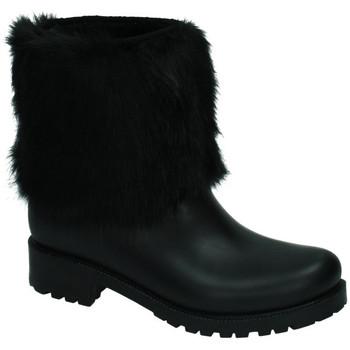 Sapatos Mulher Botas B&w  Preto