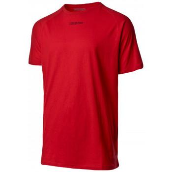 Textil T-Shirt mangas curtas Kappa Klake Red crimson-Black