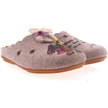 Sapatos Mulher Chinelos Marpen Zapatillas de Casa  Hippie Rosa