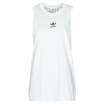 Textil Mulher Tops sem mangas adidas Originals TANK Branco