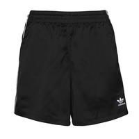 Textil Mulher Shorts / Bermudas adidas Originals SATIN SHORTS Preto