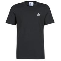 Textil Homem T-Shirt mangas curtas adidas Originals ESSENTIAL TEE Preto