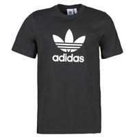 Textil Homem T-Shirt mangas curtas adidas Originals TREFOIL T-SHIRT Preto