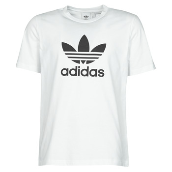 Textil Homem T-Shirt mangas curtas adidas Originals TREFOIL T-SHIRT Branco