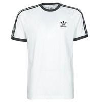 Textil Homem T-Shirt mangas curtas adidas Originals 3-STRIPES TEE Branco