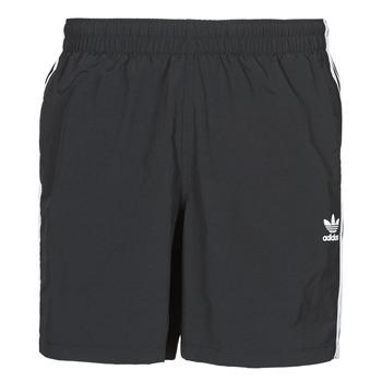 Textil Homem Fatos e shorts de banho adidas Originals 3-STRIPE SWIMS Preto