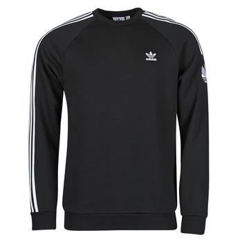 Textil Homem Sweats adidas Originals 3D TF 3 STRP CR Preto