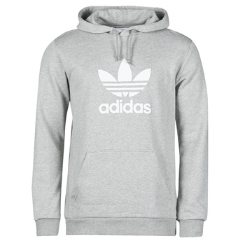 Textil Homem Sweats adidas Originals TREFOIL HOODIE Cinza