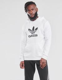 Textil Homem Sweats adidas Originals TREFOIL HOODIE Branco