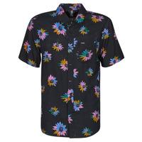 Textil Homem Camisas mangas curtas Volcom PLEASURE CRUISE S/S Preto