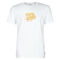 Textil Homem T-Shirt mangas curtas Volcom M. LOEFFLER FA SS Branco