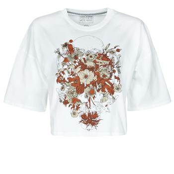 Textil Mulher T-Shirt mangas curtas Volcom FA FORTIFEM TEE Branco