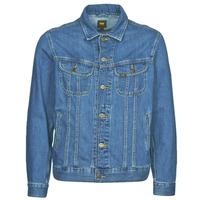 Textil Homem casacos de ganga Lee LEE RIDER JACKET Azul