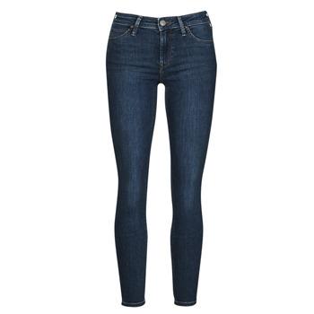 Textil Mulher Gangas Skinny Lee SCARLETT Azul