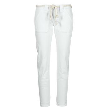 Textil Mulher Calças Le Temps des Cerises EZRA Branco