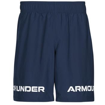 Textil Homem Shorts / Bermudas Under Armour UA WOVEN GRAPHIC WM SHORT Azul