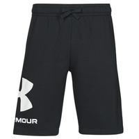 Textil Homem Shorts / Bermudas Under Armour UA RIVAL FLC BIG LOGO SHORTS Preto