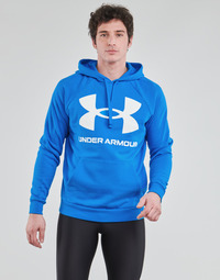 Textil Homem Sweats Under Armour UA RIVAL FLEECE BIG LOGO HD Azul