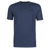 Textil Homem T-Shirt mangas curtas Under Armour UA SPORTSTYLE LC SS Azul