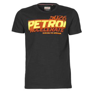 Textil Homem T-Shirt mangas curtas Petrol Industries T-SHIRT SS R-NECK F Preto