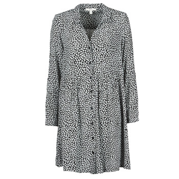Textil Mulher Vestidos compridos Esprit ROBE PRINT Preto