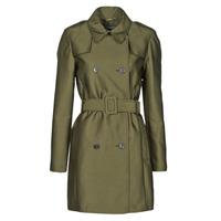 Textil Mulher Trench Esprit TRENCH COURT Verde