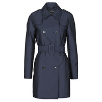 Textil Mulher Trench Esprit TRENCH COURT Azul