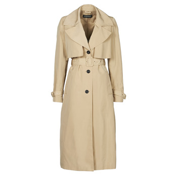 Textil Mulher Trench Esprit TRENCH NYLON LNG Bege