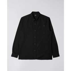 Textil Homem Camisas mangas comprida Edwin Chemise  Fannar noir