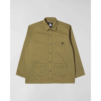 Textil Homem Camisas mangas comprida Edwin Chemise  Major olive