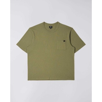 Textil Homem T-Shirt mangas curtas Edwin T-shirt  Oversized vert kaki