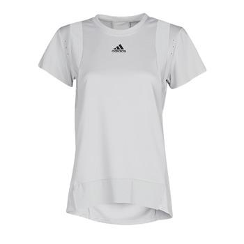 Textil Mulher T-Shirt mangas curtas adidas Performance TRNG TEE H.RDY Cinza