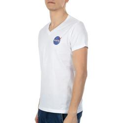 Textil Homem T-Shirt mangas curtas Nasa  Branco