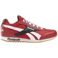 Sapatos Criança Sapatilhas Reebok Sport Royal CL Jogger Branco, Vermelho