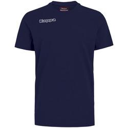 Textil Rapaz T-shirts e Pólos Kappa T-shirt enfant  Tee bleu royal