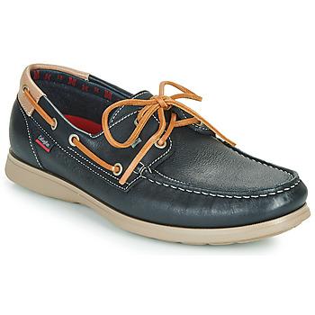 Sapatos Homem Mocassins CallagHan EAU Azul