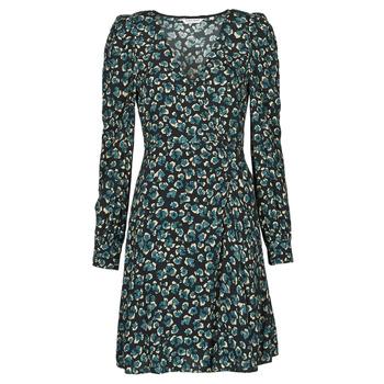 Textil Mulher Vestidos curtos Naf Naf LEO R1 Bege / marinho / Preto / Verde