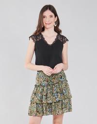 Textil Mulher Tops / Blusas Naf Naf OROME Preto