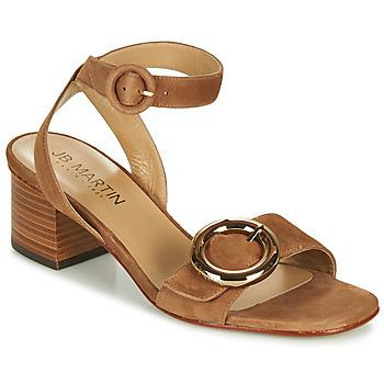 Sapatos Rapariga Sandálias JB Martin OLAK Castanho