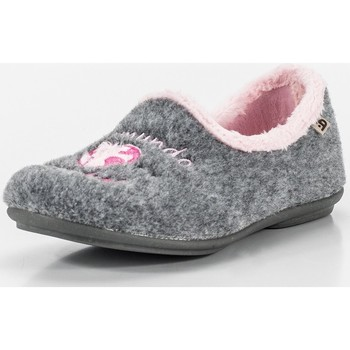Sapatos Mulher Chinelos Berevere IN0090 Gris