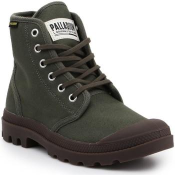 Sapatos Botas baixas Palladium Manufacture Pampa HI Originale 75349-326-M oliwkowozielony